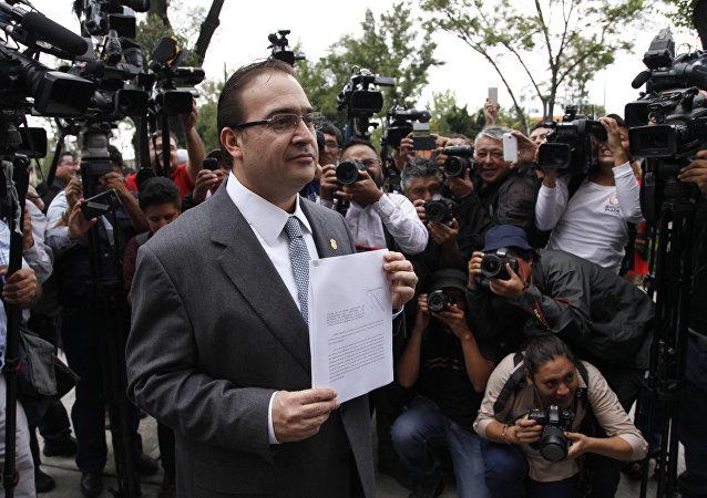 Javier Duarte, el exgobernador de Veracruz