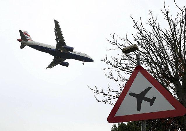 Un avión de la compañía aérea British Airways