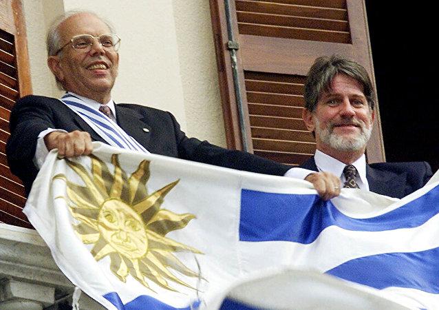 Jorge Batlle, el expresidente de Uruguay