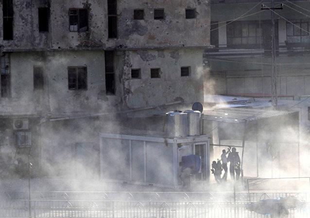 El ataque de ISIS en la ciudad iraquí en Kirkuk (archivo)