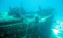 Un barco hundido