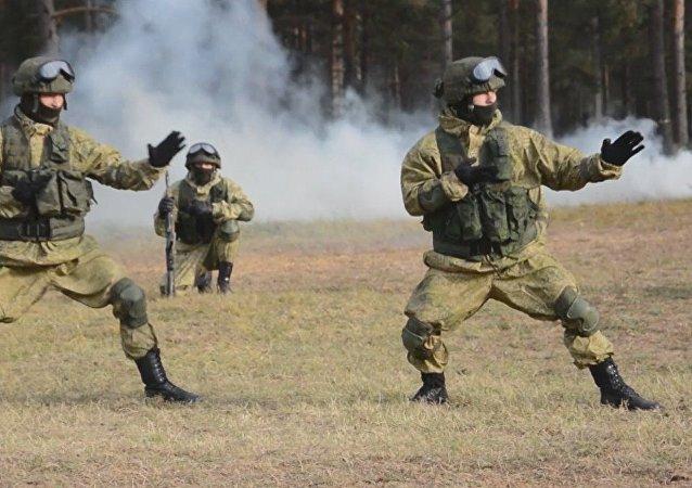 Las Fuerzas Élite de Rusia en acción