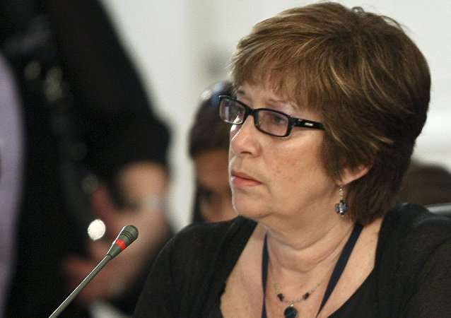 Marina Arismendi, ministra de Desarrollo Social de Uruguay