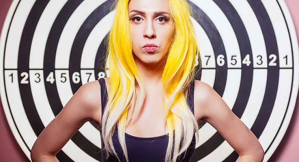 Alexandra Gúseva, la 'Lady Gaga rusa'