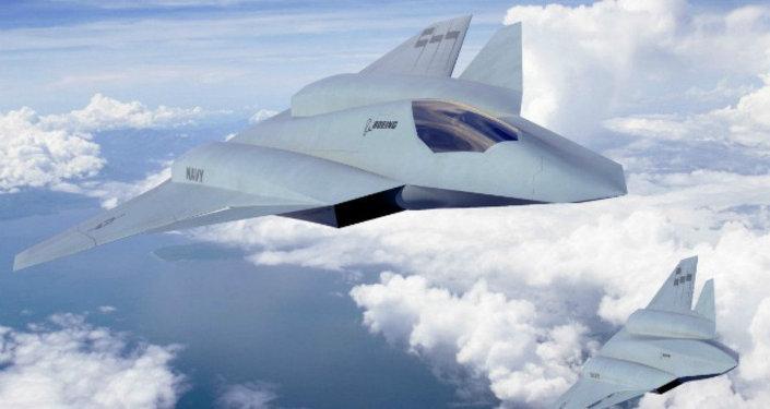 Concepto del caza de sexta generación Boeing F/A-XX