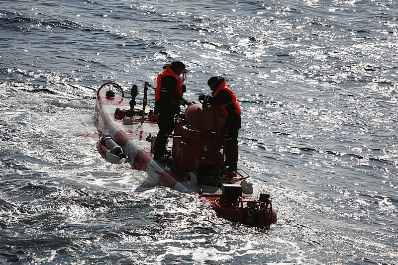 Ejercicios del servicio de rescate de la Flota del Pacífico de Rusia