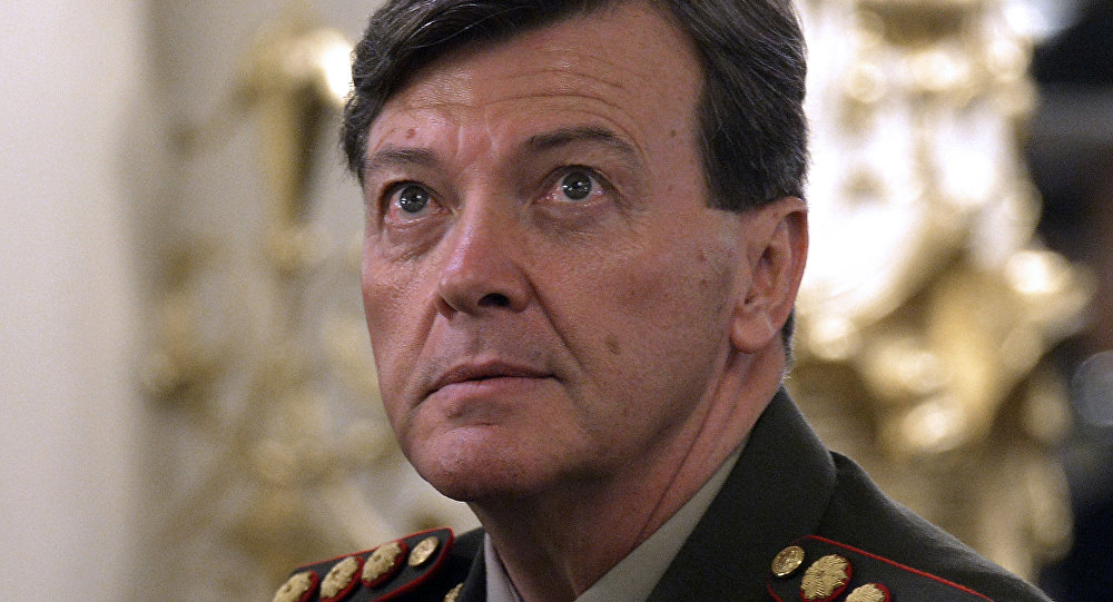 César Milani, exjefe del Ejército de Argentina