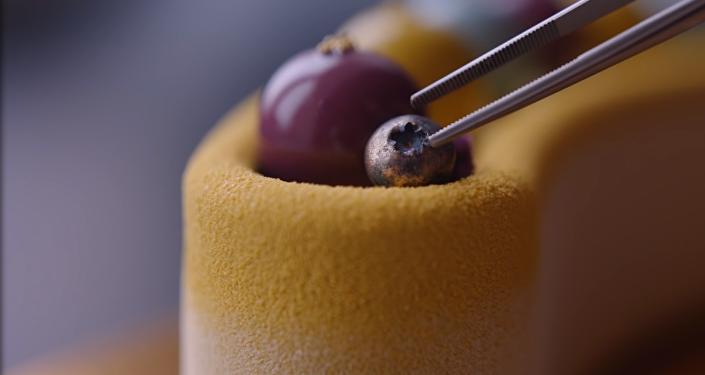 Los colores del otoño: una pastelera rusa crea tortas al borde de la perfección