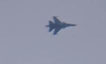 Caza Su-34 filmado en Hama