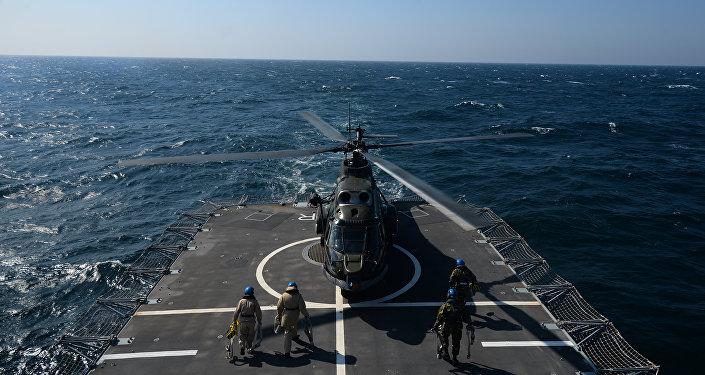 Buque de la OTAN en el Mar Negro (archivo)