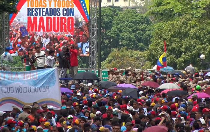 Venezuela: varios heridos en los choques entre oficialistas y opositores a Maduro
