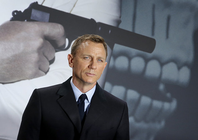 Actor británico Daniel Craig, que interpreta a James Bond