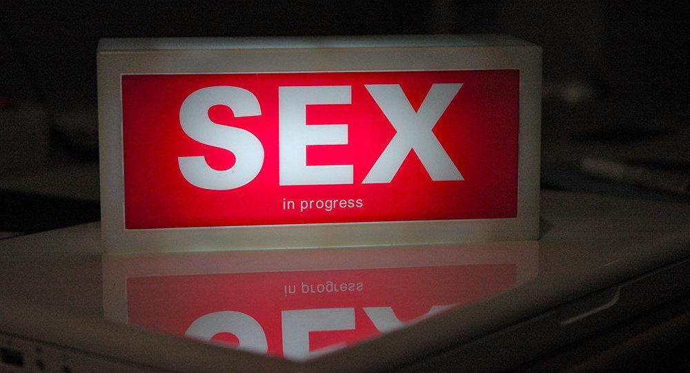 Aviso de Sexo en marcha (imagen referencial)