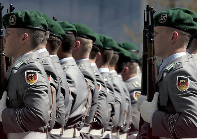 La Bundeswehr, Fuerzas Armadas de Alemania (archivo)