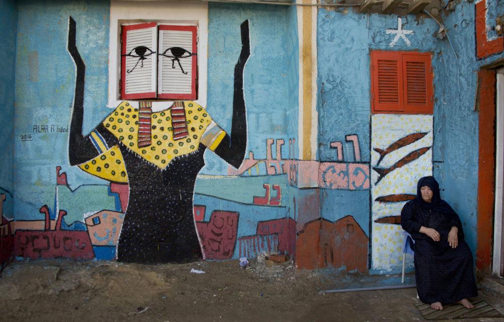 Por tercer año consecutivo en la ciudad egipcia de Burullus se celebra un festival de arte