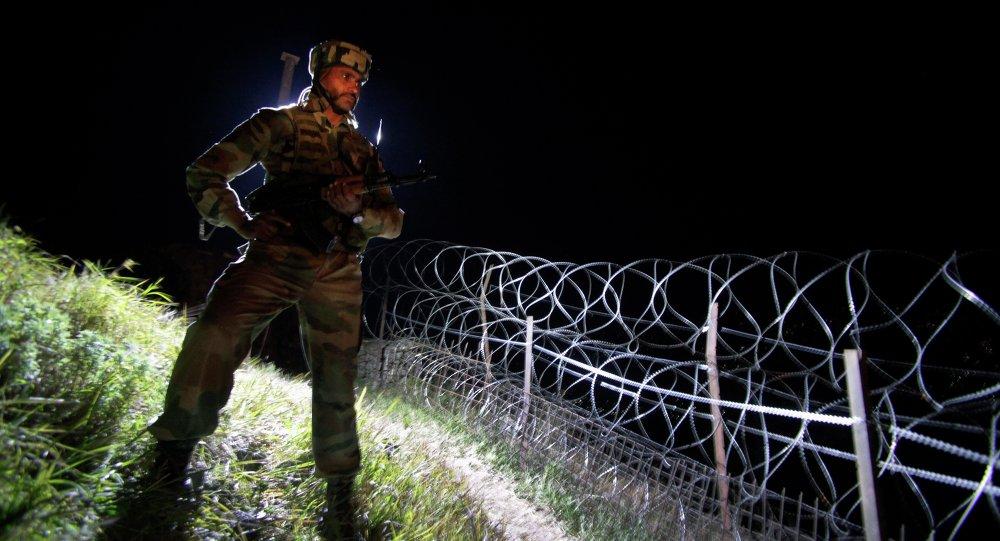 La frontera indio-pakistaní (archivo)