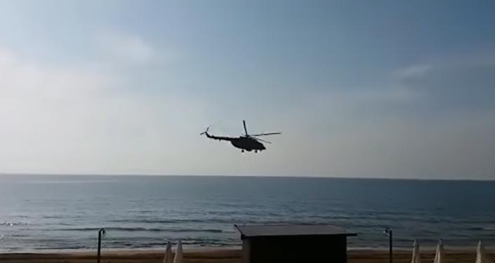El nuevo helicóptero ruso Kamov Ka-35 fue observado en Siria