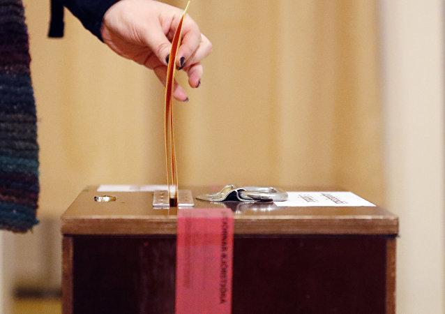 Elecciones anticipadas en Islandia