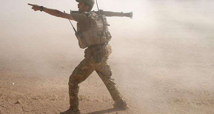 Combates en Mosul