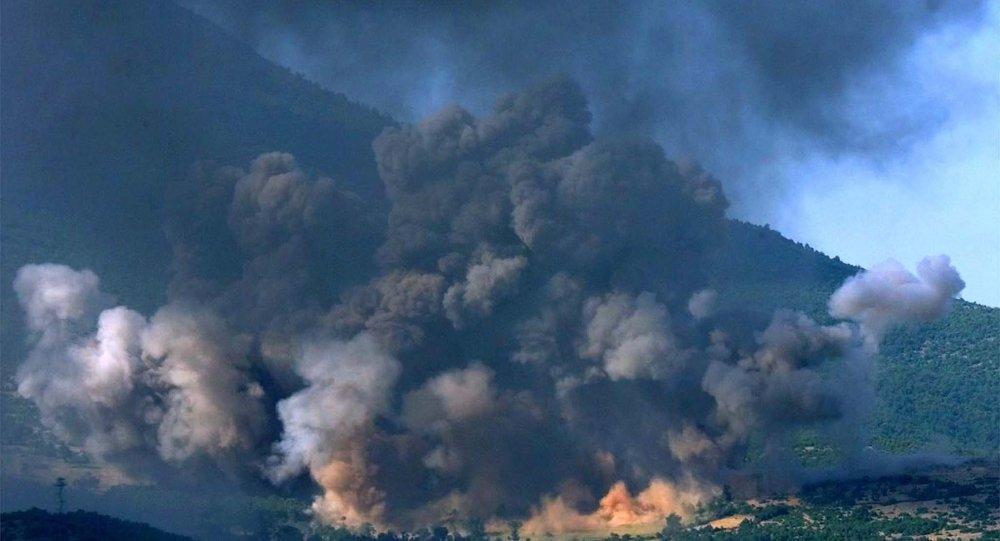 Bombardeo de Yugoslavia por la OTAN en 1999 (archivo)