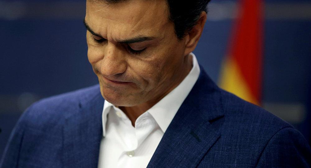 Pedro Sánchez, líder de los socialistas españoles