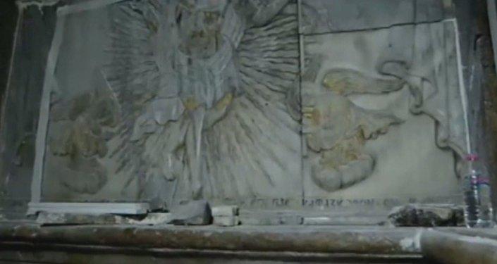 Primera ojeada a la tumba de Jesucristo