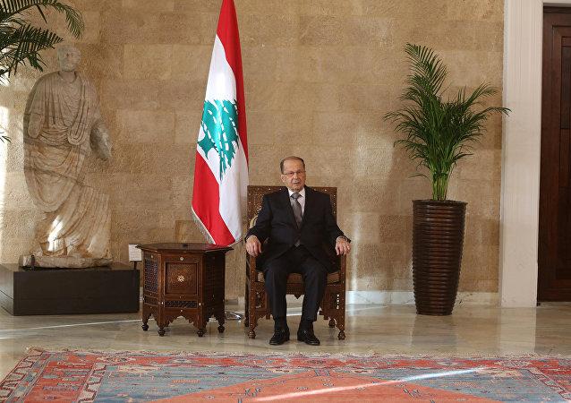 Michel Aoun, el presidente de Líbano