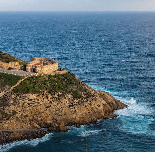 Ceuta, el puerto español (imagen referencial)