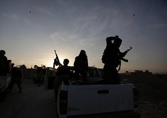Rebeldes sirios (archivo)