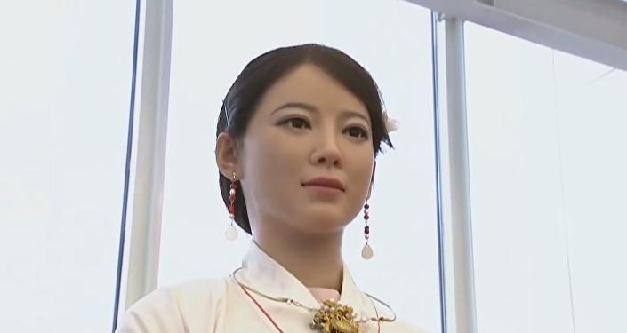 Crean en China uno de los robots más humanos