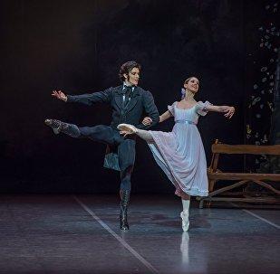 María Noel Riccetto, primera bailarina del Ballet Nacional del Sodre y Ciro Mansilla, primer bailarín del Sodre