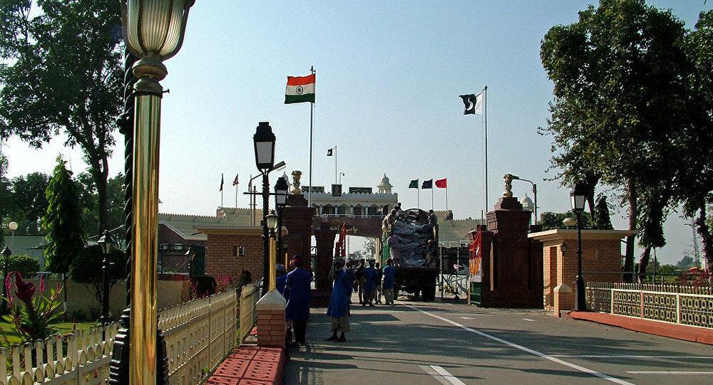 Frontera entre Pakistán y la India