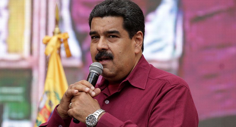 Nicolas Maduro, presidente de Venezuela (archivo)