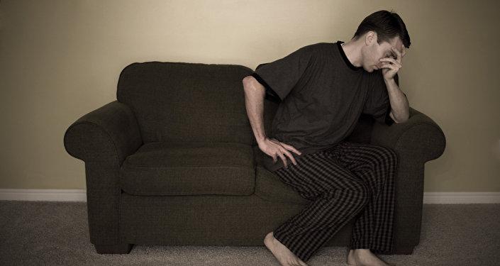 Un hombre depresivo (imagen referencial)
