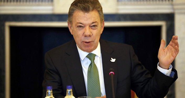 Juan Manuel Santos, el presidente de Colombia