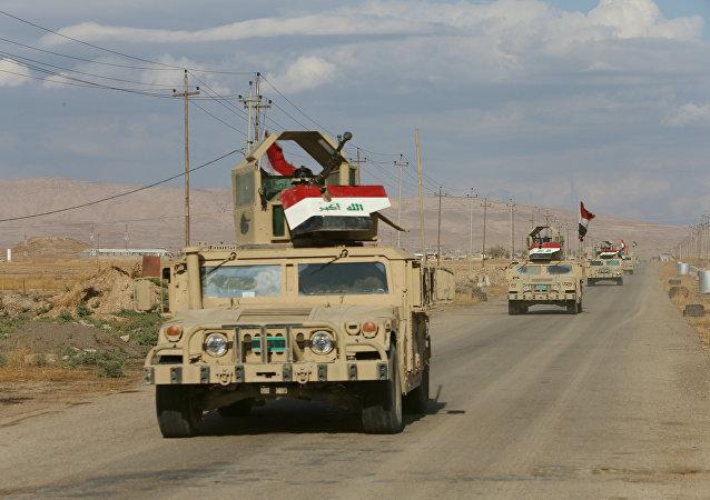 Las tropas de Irak en las afueras de Mosul (archivo)