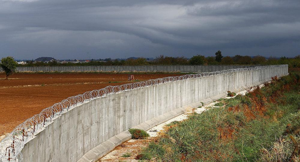 Muro entre Turquía y Siria (archivo)
