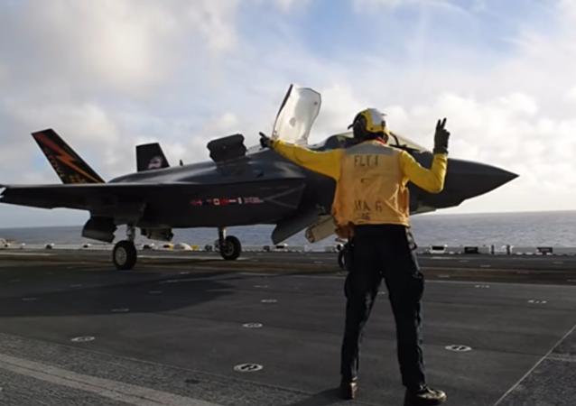 La Marina de EEUU prueba el F-35B