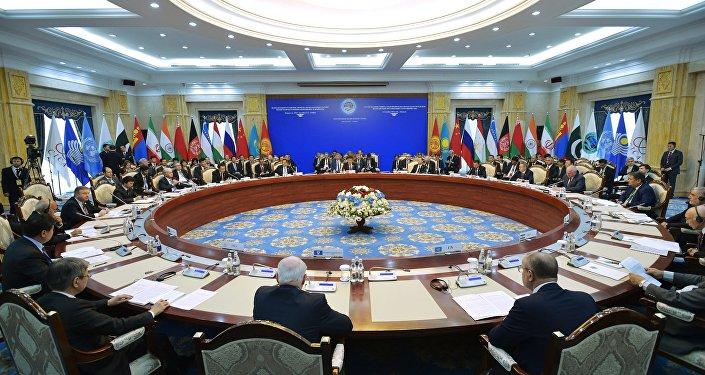 Cumbre de OCS en Biskek (archivo)