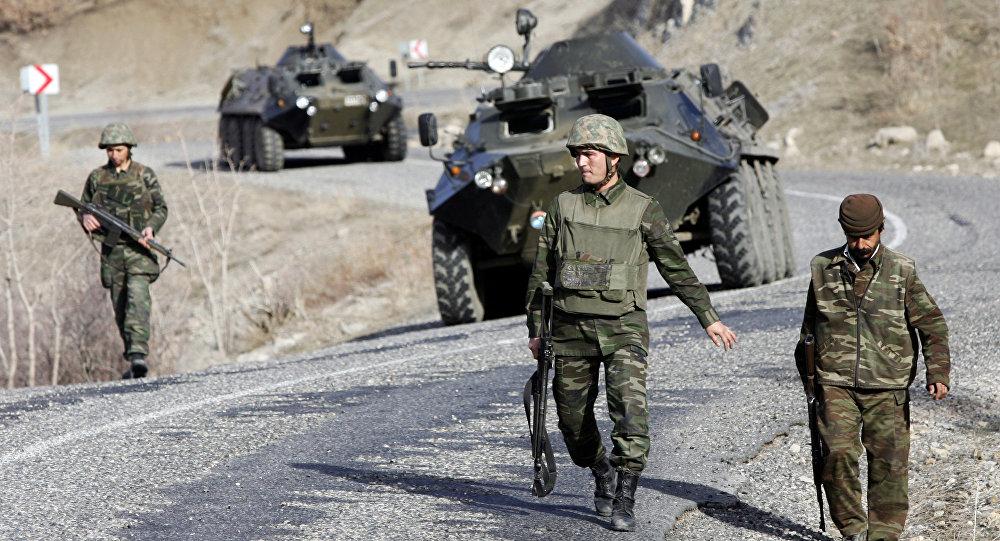 Las tropas turcas (archivo)