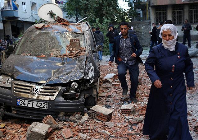 La situación tras el atentado en Turquía
