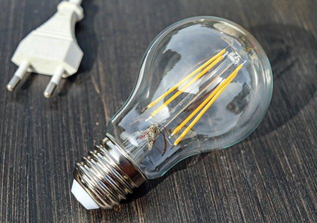 Una lámpara de incandescencia (archivo)