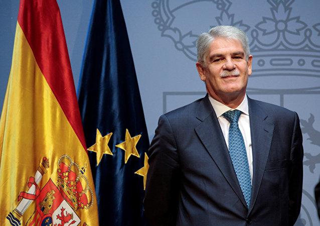 Alfonso Dastis, el ministro de Asuntos Exteriores español