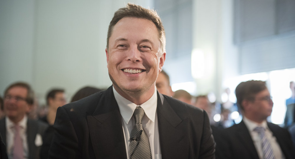Elon Musk, director jefe de SpaceX y Tesla Motors