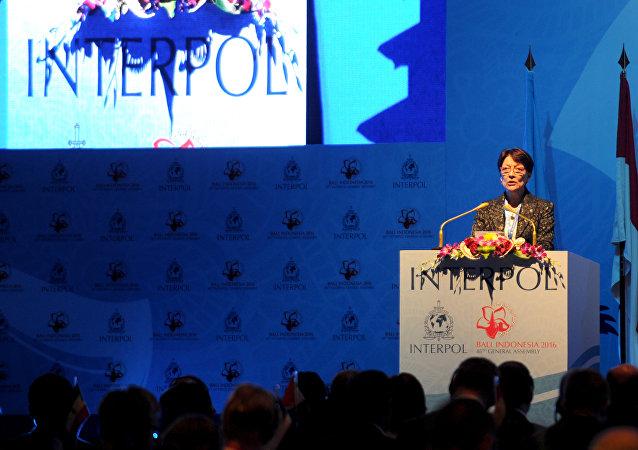Mireille Ballestrazzi, presidenta de la Organización Internacional de Policía Criminal (Interpol)