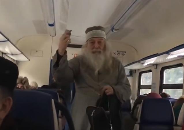 Un tren ruso, epicentro de la batalla entre Dumbledore y Voldemort