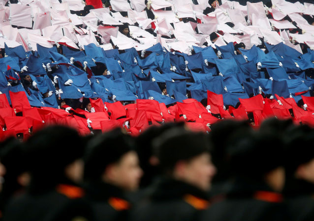 Desfile militar en la Plaza Roja de Moscú (archivo)