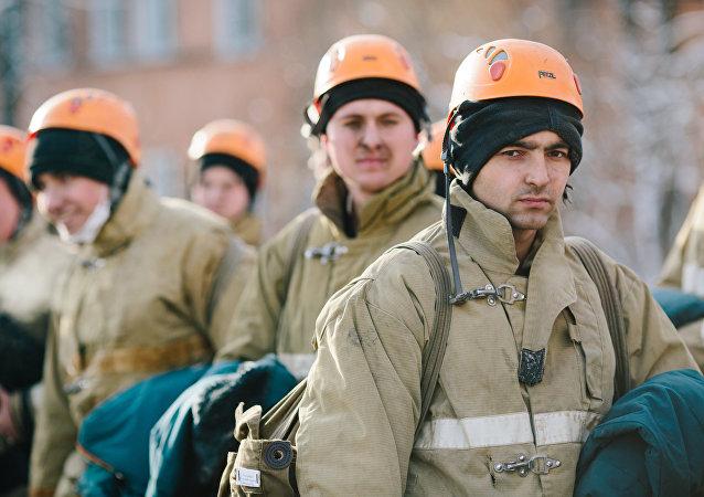 Los socorristas rusos