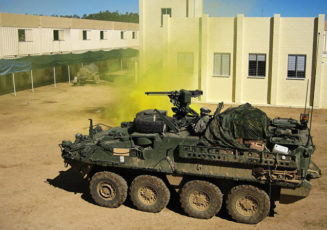 Vehículo blindado Stryker