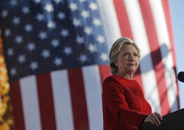 Hillary Clinton, excandidata a la presidencia de EEUU